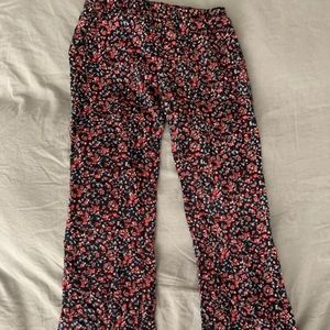 Flare bottom pants